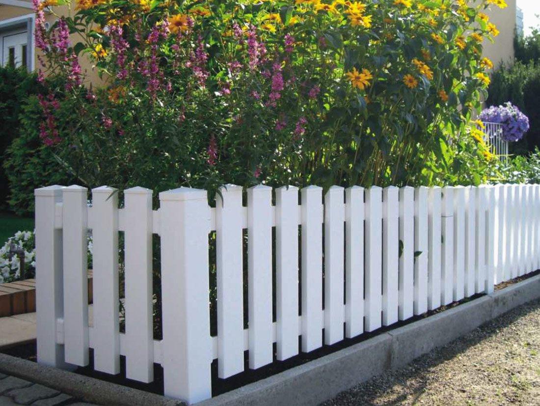 Recinzioni Da Giardino In Pvc Staccionate In Legno Da Giardino Pali