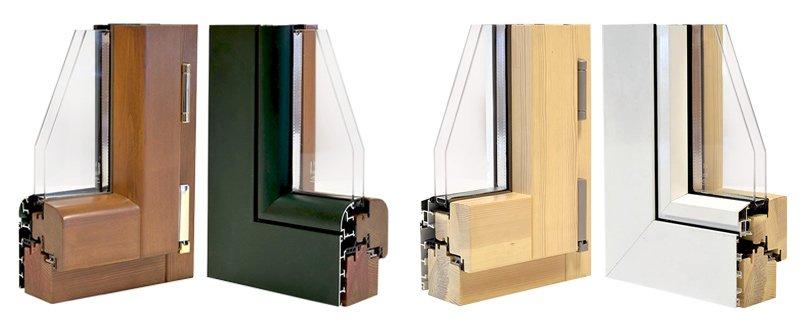 Infissi in legno alluminio windoor serramenti for Costo infissi legno alluminio